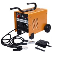 Ktaxon 110V / 220V Dual Mode Welding Machine, Portable 250Amp ARC Stick Electrode Welder, Feed Fan Automatic Cool, for Welding Stainless Steel, Mild Steel & Iron, Perfect for Industry Commercial