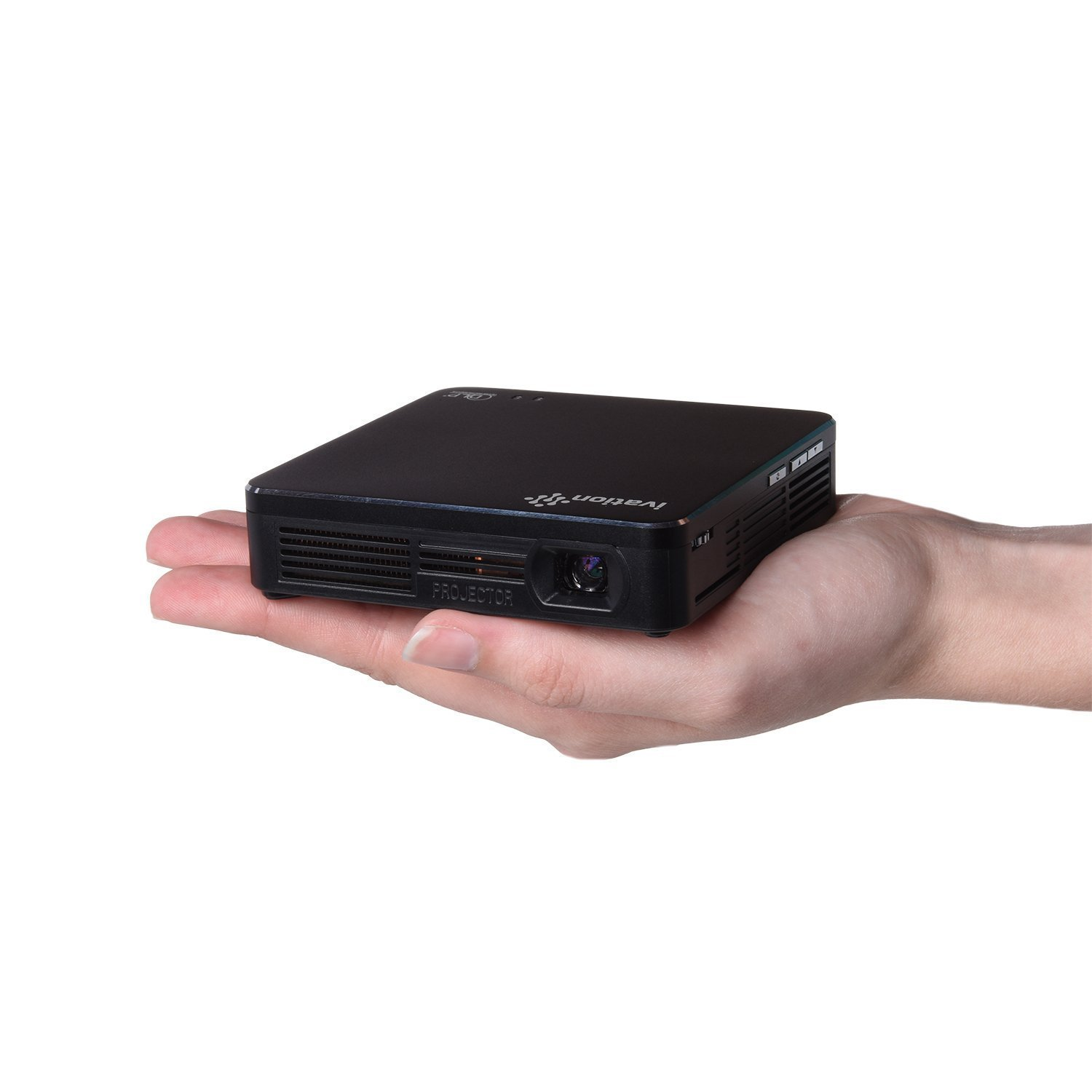 IVATION Pro4 Compact Wireless Mini Projector | Built-In S...