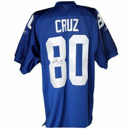 Steiner Sports Decorative Victor Cruz Signed on Field Giants Jersey -  Walmart.com 2fb8de555