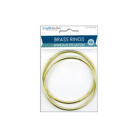 Brass 3 Ring (Multicraft Brass Rings 3