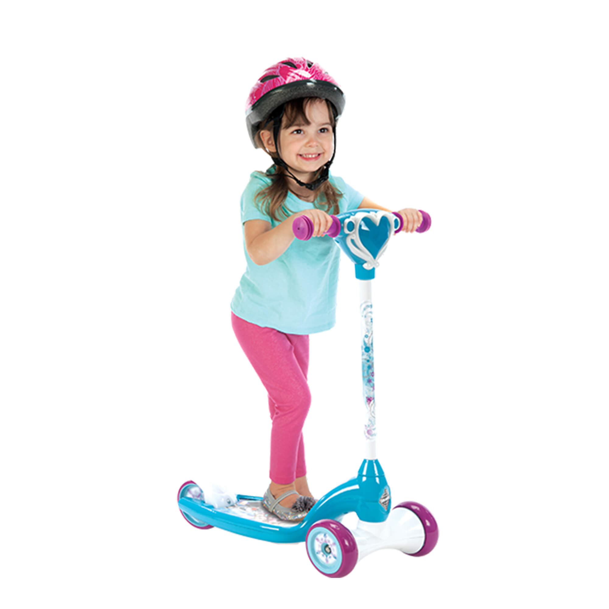 Disney Frozen Preschool Girls' Scooter with Lights and Sounds, by Huffy by Huffy