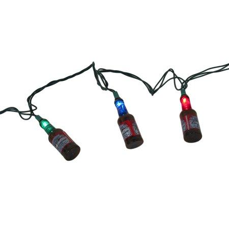 Td5 Lights (10 Budweiser Bottles Indoor/Outdoor 10 Ft. LED String Light Set)