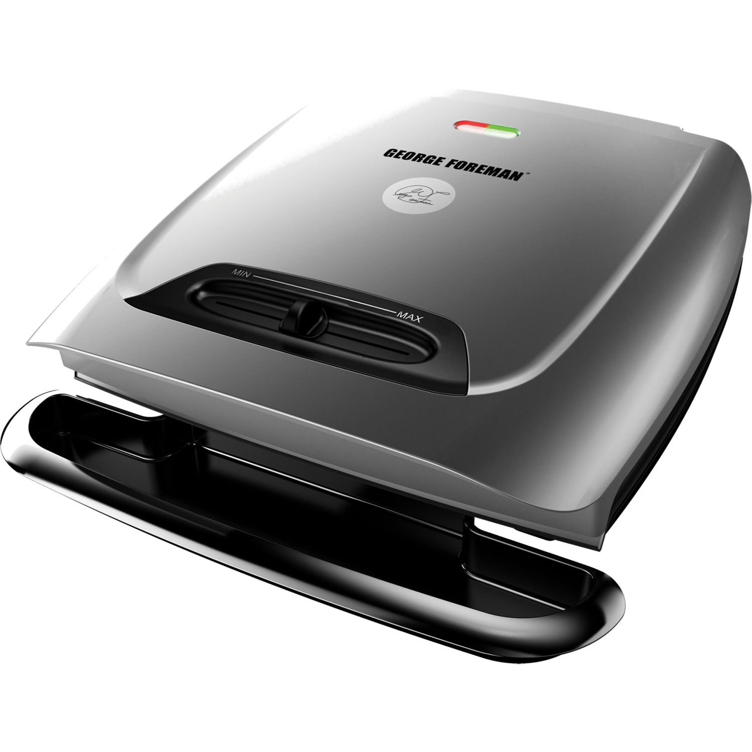 George Foreman Classic Electric Grill With Variable Temperature Control, GR2121P
