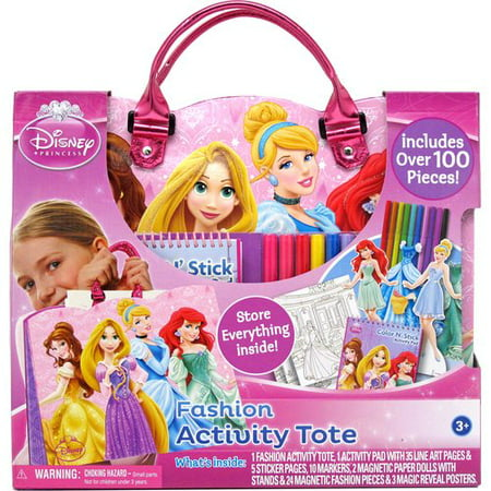 Disney Princess Art Activity Tote, Pink (Disney Princess Art And Activity Collection 1000 Pieces)