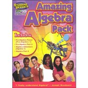 Standard Deviants: Amazing Algebra Super Pack by