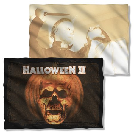 Halloween II Poster Sub Pillow Case White One Size