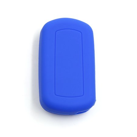 Sea Blue Silicone 2 Button Car Remote Key Cover Case Protective for Range Rover - image 3 of 3