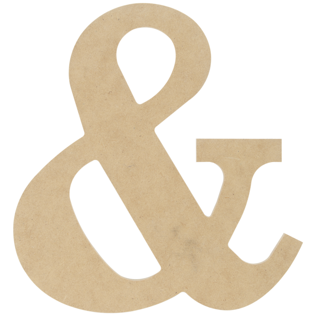 MDF Classic Font Wood Letters & Numbers 9.5\