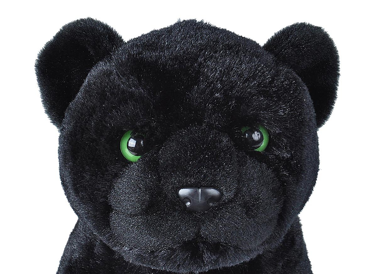 Wild Republic Black Jaguar Plush