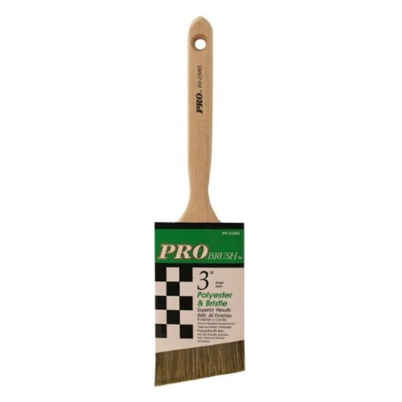 "3"" Pro Angle Sash Polyester And Bristles Great American Marketing PR01985"