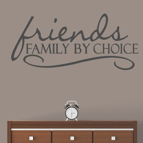 Winston Porter Higgin Friends Family By Choice Wall Decal