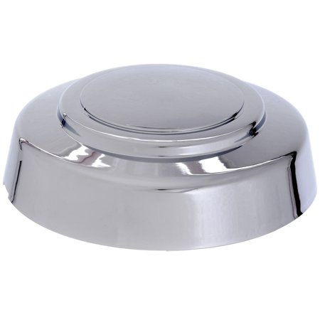Truck E-150 Van (Cover Trend (1 PIECE) CHROME FRONT CENTER CAP, Aftermarket Fits 1995-2014 2WD FORD VAN E150 E250 E350 TRUCK F250 F350, HUB  (3140-F; Chrome plated)