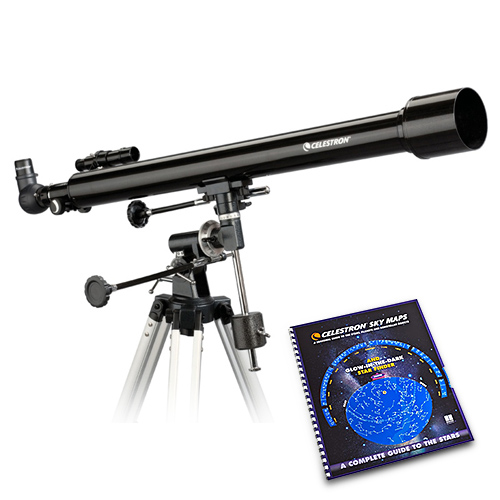 Celestron PowerSeeker 60EQ with Skymaps Celestron PowerSeeker 60EQ   Telescope