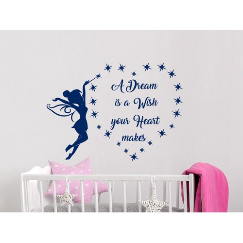 Harriet Bee A Dream is a Wish Wall Decal