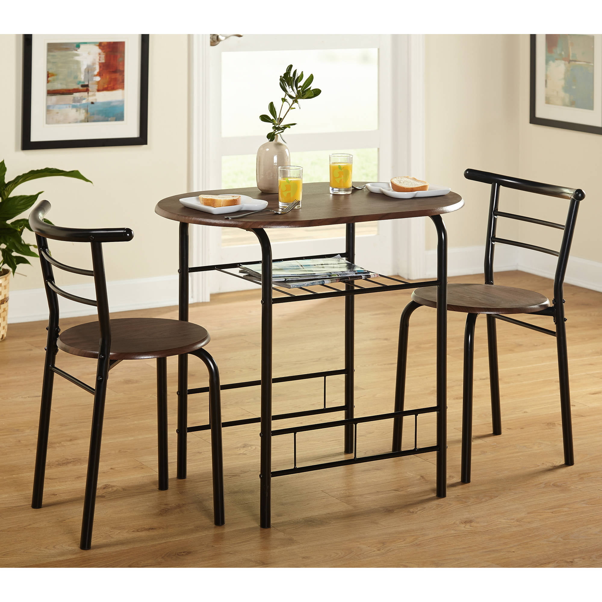 Marvelous Bistro Breakfast Table Part - 8: 3-Piece Bistro Set, Multiple Colors - Walmart.com