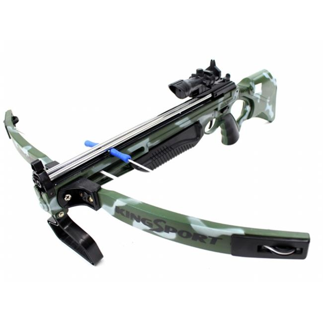 AZ Trading & Import PS881H Deluxe Action Military Crossbow Set with Scope