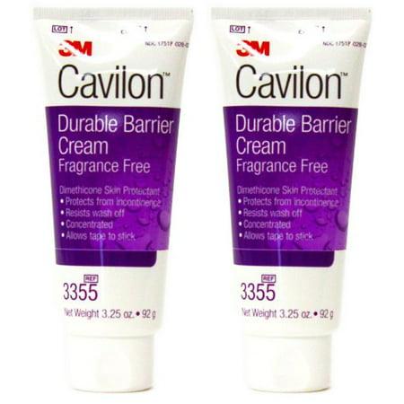 Cavilon 3M Durable Barrier Cream Unscented 3.25 Ounce (92G) Tube by Cavilon 2 tubes Cavilon Durable Barrier Cream