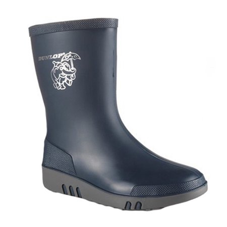 BIG NEW YEAR SALE 50% OFF Dunlop Childrens Unisex Mini Waterproof Wellington Wellie Boot K151710 Size US 9.5 M | UK 8.5 | EU 26