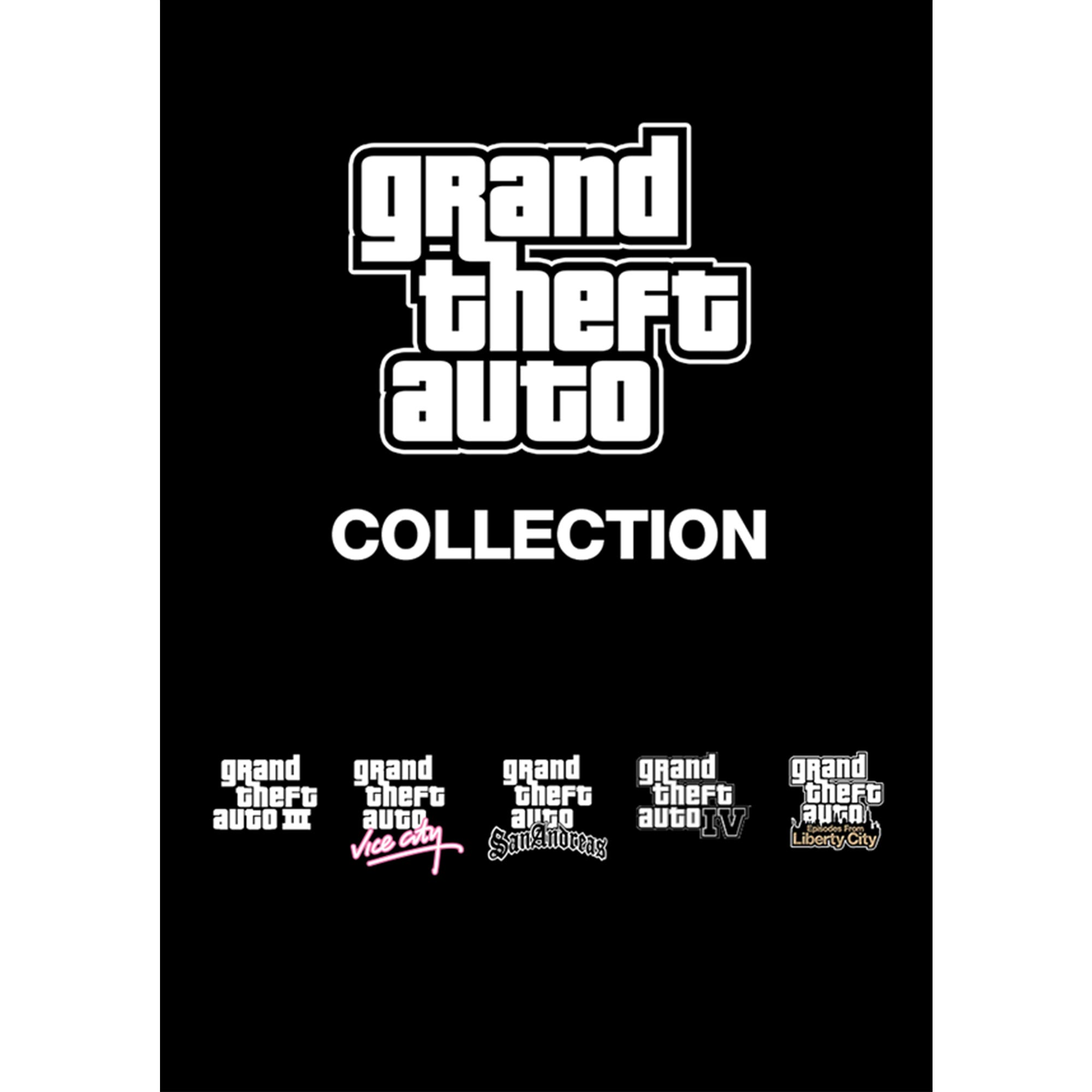 Grand Theft Auto Collection (PC)(Digital Download)