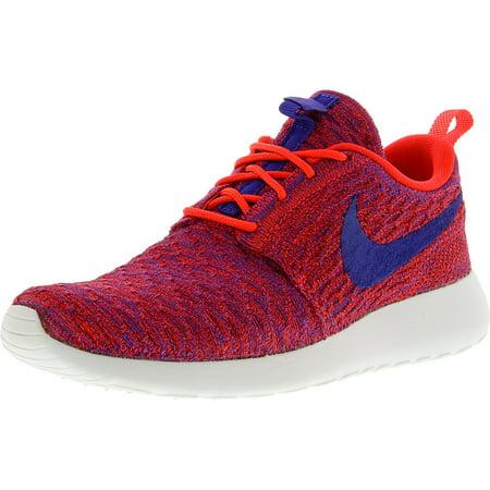 57517249e87b Nike Women s Roshe One Flyknit Bright Crimson   Persian Violet ...