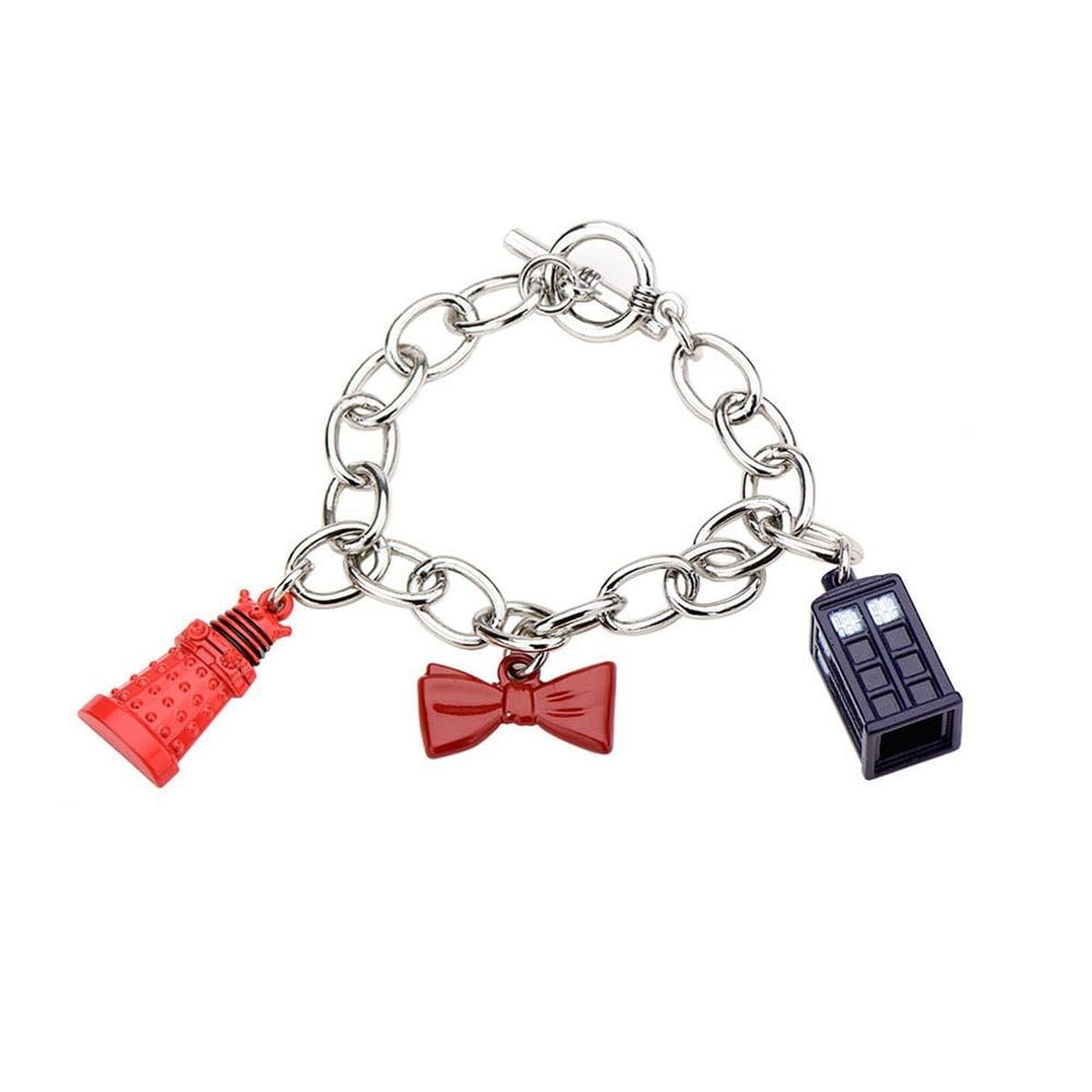 Doctor Who Charm Bow Tie Tardis