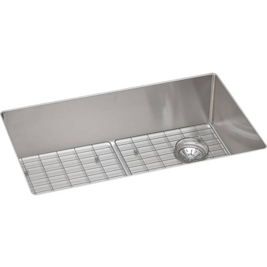... Elkay ECTRU30179RDBG Crosstown Stainless Steel Single Bowl Undermount  Sink Kit