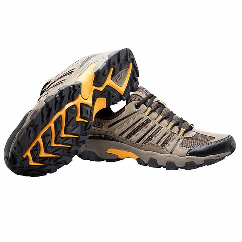 Not branded Fila Mens Day Hiker Trail Shoes (BrownBlack