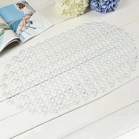 New Bathroom Tub Non-Slip Bath Floor Bubble Shower Tub Mat Plastic Rubber (Non Slip Rubber)