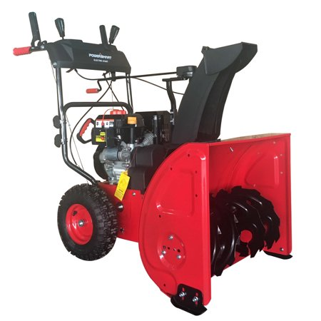 PowerSmart DB72024PA 24 inch 2-Stage Gas Snow Blower with Power