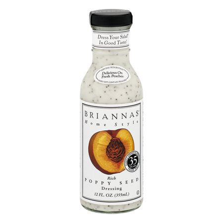 (2 Pack) Brianna's Rich Poppy Seed Dressing, 12 Oz - Halloween Cross Dressing