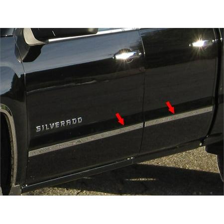 Fits 2014-2016  CHEVROLET SILVERADO Double Cab, Short Bed, NO Molding (1.5