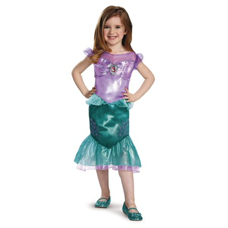Disney Princess Ariel Little Girls Costume Dress - Girls Disney Princess Dresses