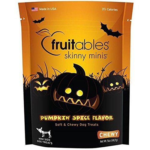 Fruitables Skinny Minis Pumpkin Dog Treat, 5 Oz by Fruitables