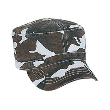 Otto Cap Camouflage Superior Garment Washed Cotton Twill Military Style Caps - Hat / Cap for Summer, Sports, Picnic, Casual wear and Reunion -