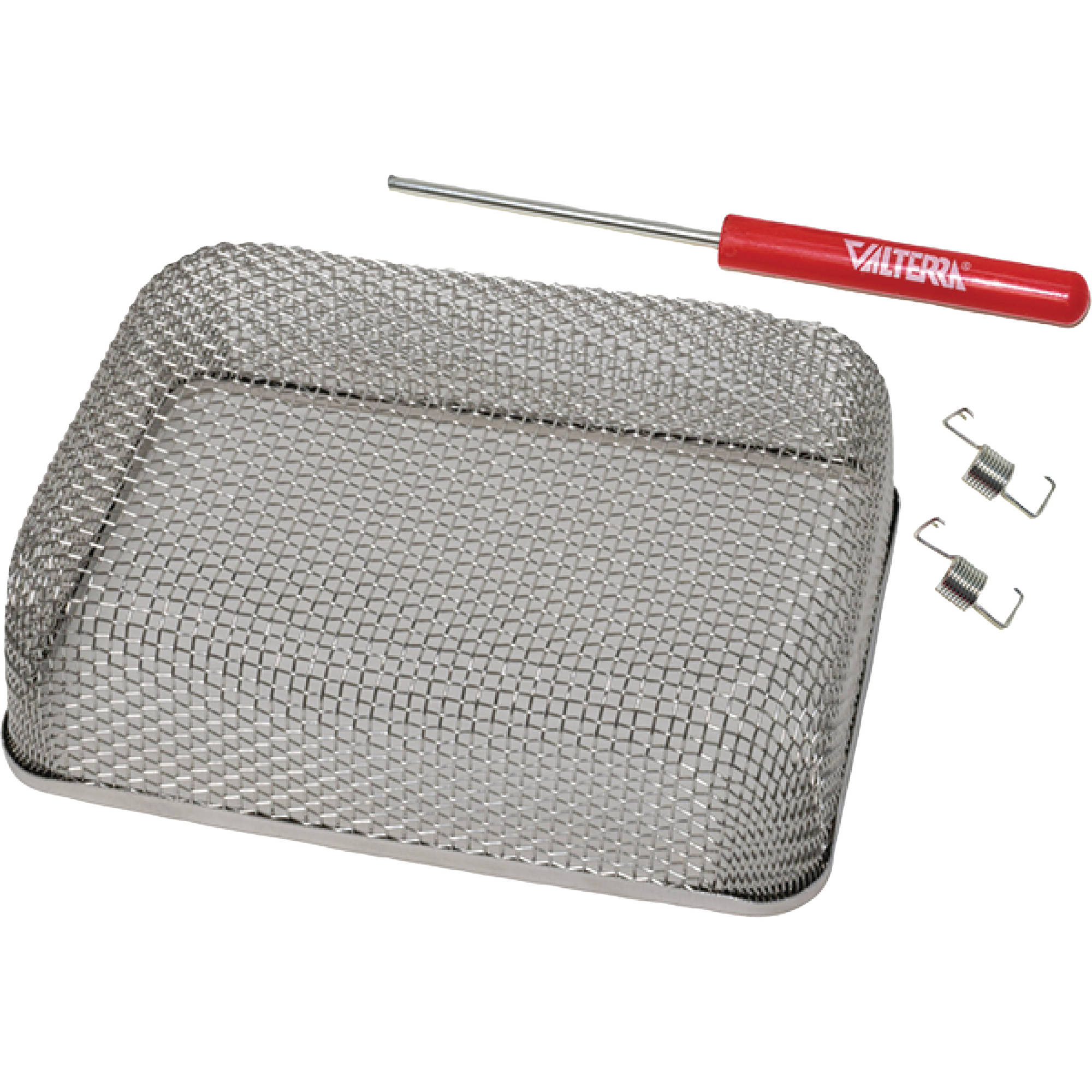 Valterra A10-1305VP Stainless Steel Mesh Cover Bug Screen for RV Furnace Vent & Includes Installation Tool & Fasteners
