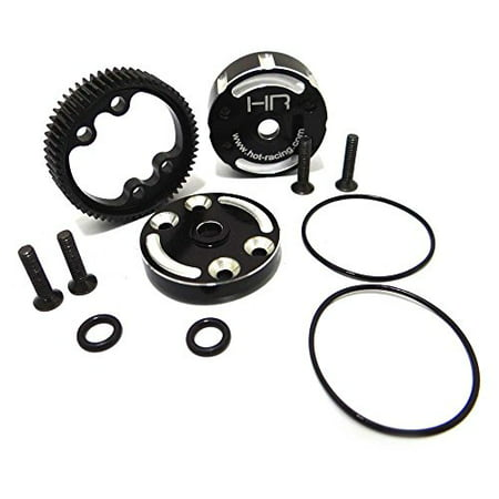 Cen Racing Differential - Hot Racing TE38CH Sealed Aluminum Differential Case for Traxxas 2wd Electric