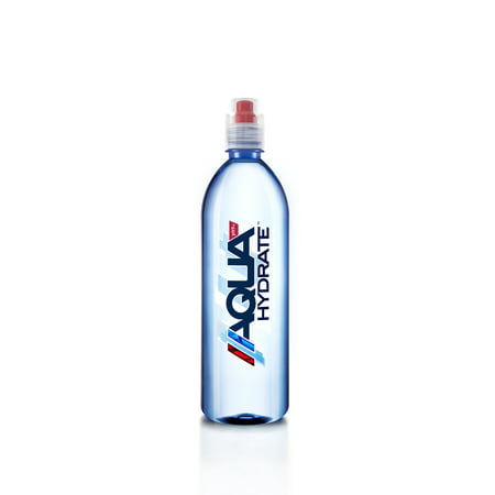 AQUAHydrate pH 9+ Water, Sport Cap, 23.7 Fl Oz, 12