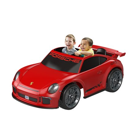 c3eeb361aa57 Power Wheels Porsche 911 Gt3 Ride-On Vehicle - Walmart.com