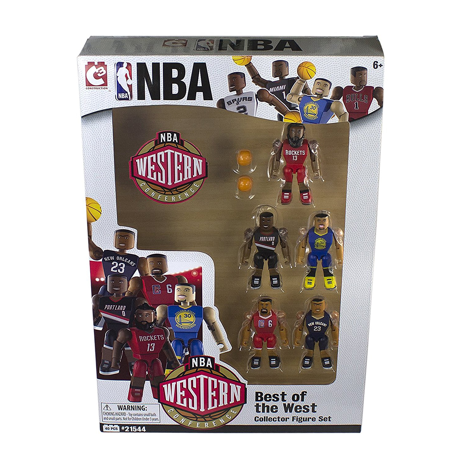 NBA Figurines Best Of The West