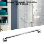 WALFRONT 50cm Thicken Stainless Steel Bathroom Bathtub Grab Bar Safety Hand Rail for Bath Shower Toilet,Grab Bar, Safety Hand Rail