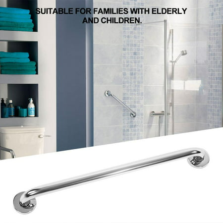 Hand Shower Rail - WALFRONT 50cm Thicken Stainless Steel Bathroom Bathtub Grab Bar Safety Hand Rail for Bath Shower Toilet,Grab Bar, Safety Hand Rail