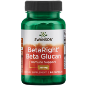 Swanson Betaright Beta Glucan 250 mg 60 Capsules