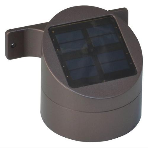 MOONRAYS 91851 LED Deck Sconce,Outdoor Solar,Rubd Brnze G9791537