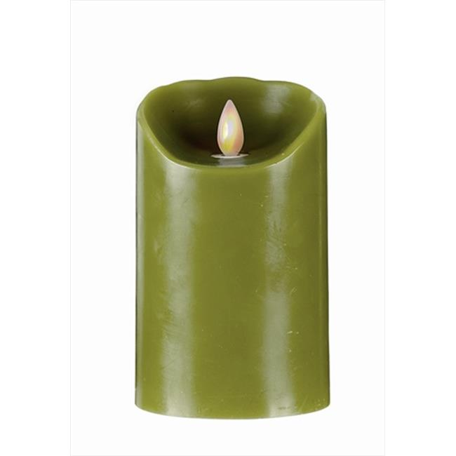 Forever Flame 5 inch Flameless Pilar Candle in - Pack of 2