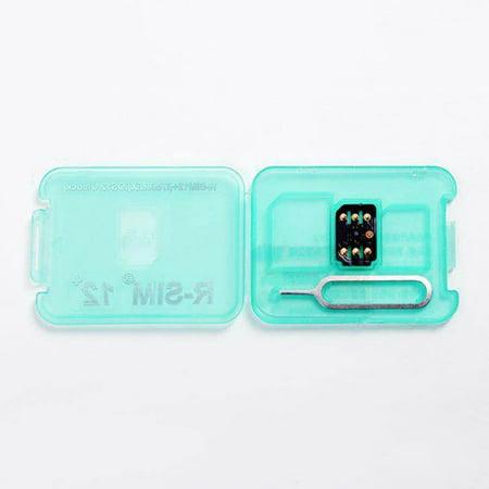 RSIM14 RSIM12+ Unlock Turbo-SIM Card For IPhone XS Max XR X 8 7 6s 6 IOS12.3 Lot (Modem Sim Unlock)