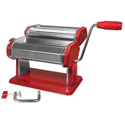 Weston Pragotrade USA 01-0221-K Pasta Machine, 6 inch , Traditional Style - Red