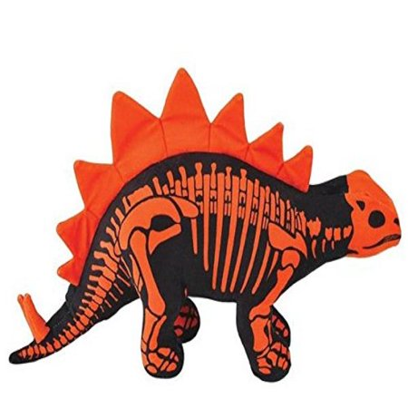 stegosaurus 15.5 skeledon dinosaur skeleton themed plush stuffed - Dinasour Skeleton