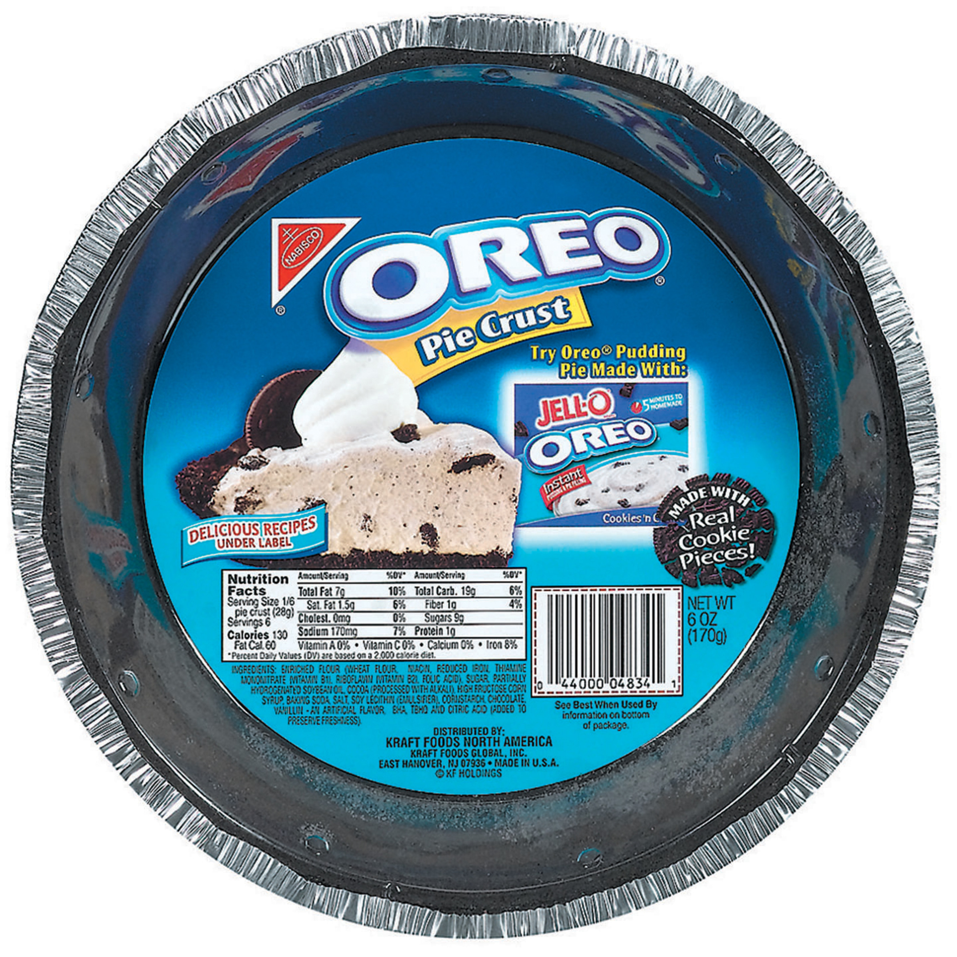 OREO Pie Crust, Ready to Bake, 12 Count   Walmart.com