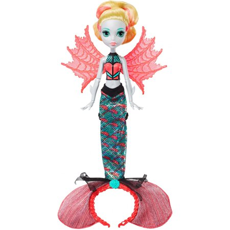 Monster High Dress Up Lagoona Blue (Monster High Ghoul to Mermaid Lagoona Blue Transformation)
