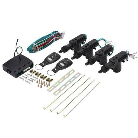 Yosoo Car Remote Control 4 Door Power Central Lock System Auto Locking Security Keyless Entry Kit,Car Remote Kit,Car Door Remote Kit